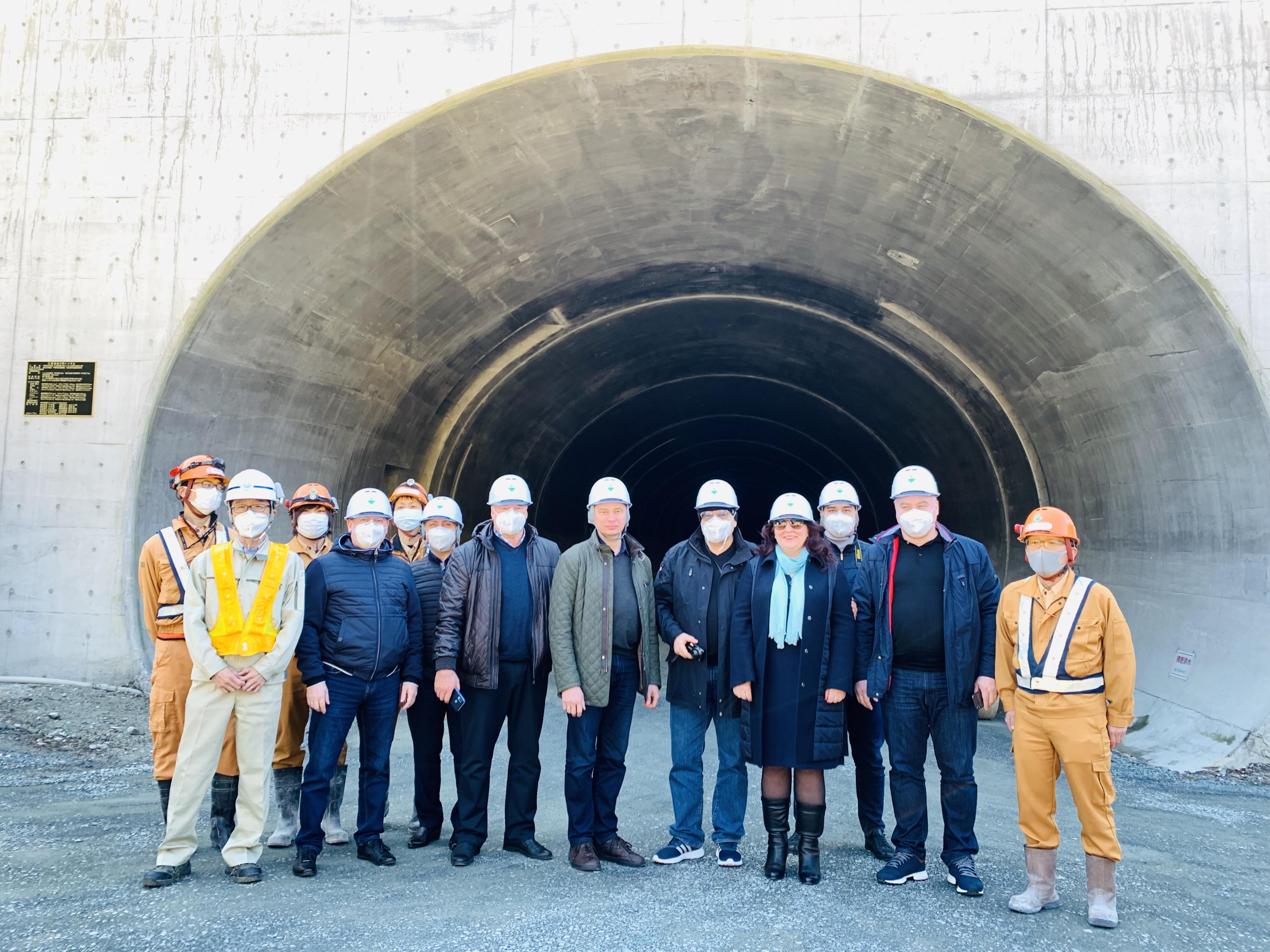 «Инновационные технологии проектирования, строительства и эксплуатации мостов, метрополитенов и транспортных  тоннелей  в Японии», в г. Токио–Камакура-Иокогама-Нагоя-Кобе-Осака-Киото, Япония с 25 февраля   по 03 марта 2020 г.